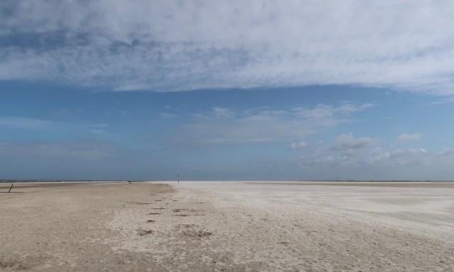 Endloser Strand in Sankt Peter-Ording