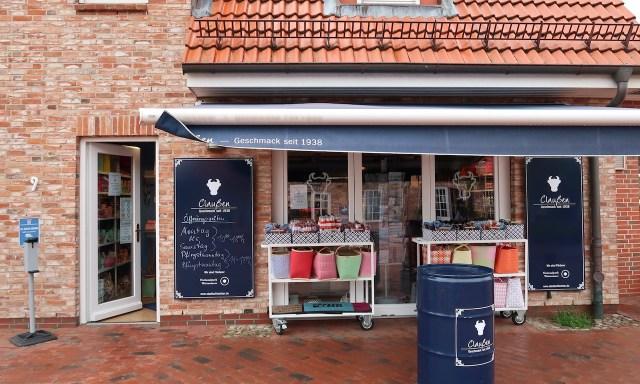 Claußen, ein weiterer netter Laden in Dorf, Sankt Peter-Ording