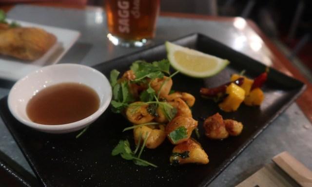 Food im Sundoo Restaurant, Seapoint Kapstadt