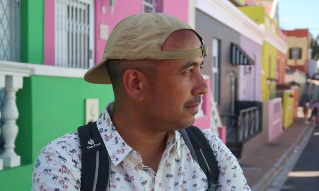 Bendja im Profil im Bo-Kaap Viertel