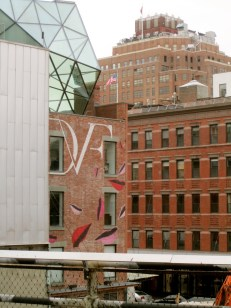 DVF from the High Line.