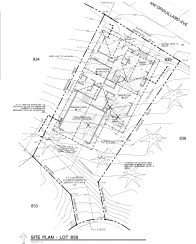 Lot 835 - Site Plan