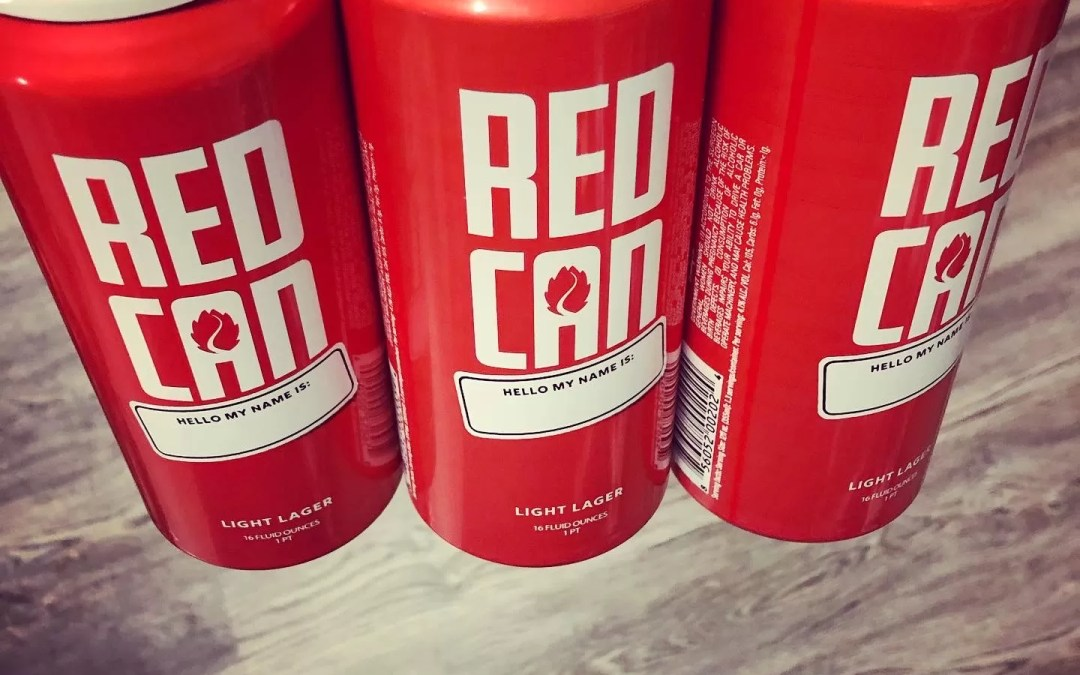 Hop Valley Red Can