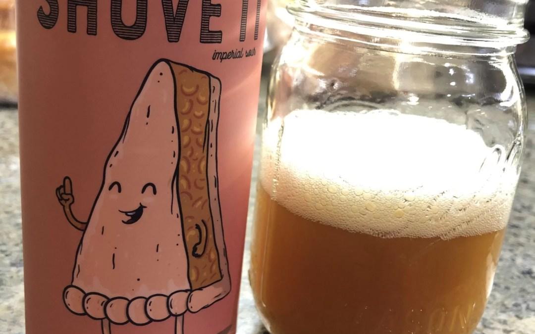 Peach Shove It Beer Smoothie!