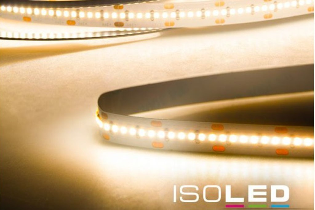 led linear strip warm white with 6 0 watts per meter at 24 volt ip20