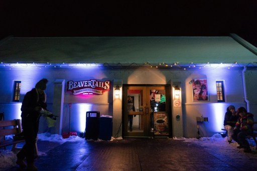 the front of the only beavertails location in London