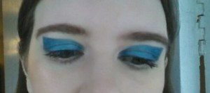 Blue Colour Block Eye