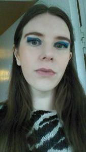 Blue Colour Block Eye