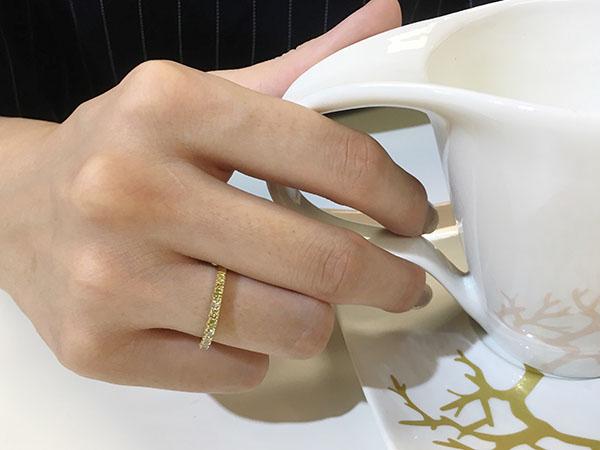 指輪リング指着ける場所意味4