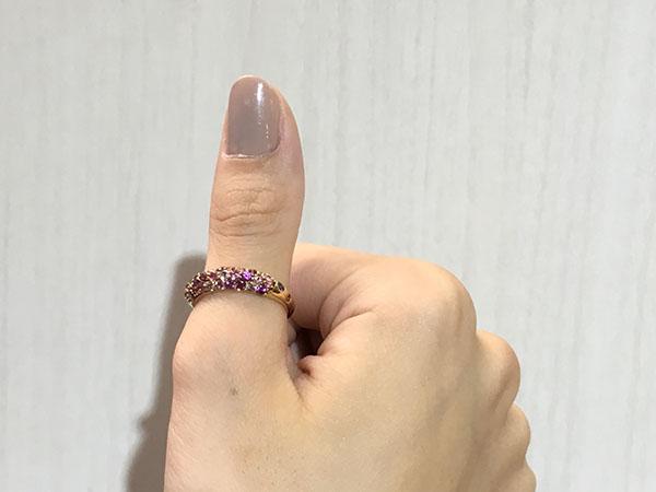 指輪リング指着ける場所意味1