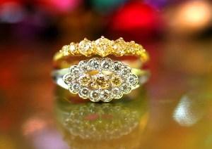 【サロン限定 全て1点もの】アーガイル鉱山産出のゴールドカラーダイヤモンドの魅力。