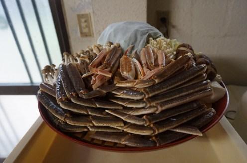 kumihama bay crab