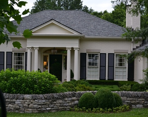 More Painted Brick Homes...{And My Favorite!}