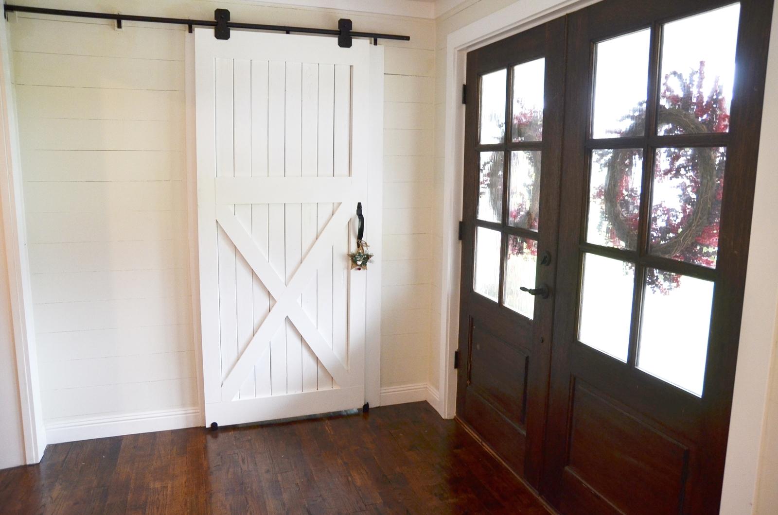 How To Hang A Barn Door!