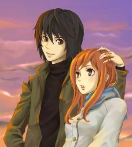 Takizawa Akira and Morimi Saki