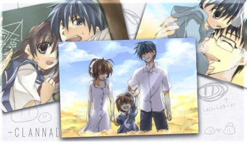 Tomoya, Nagisa, Ushio, and Naoyuki