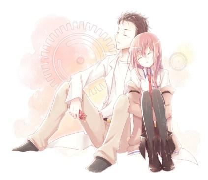 Rintaro and Kurisu