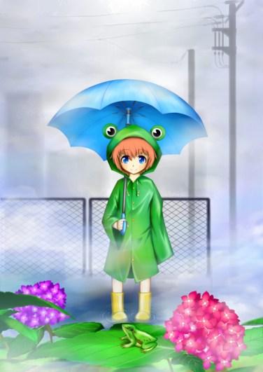 Anime Frog
