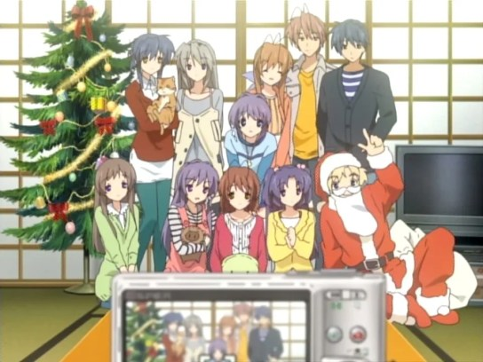 Clannad Christmas picture