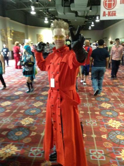 A-Kon cosplay Vash Trigun