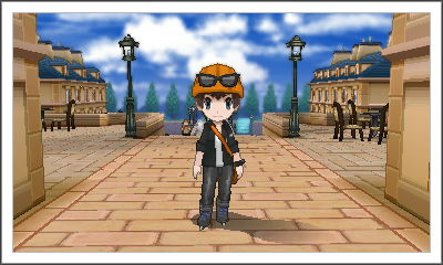 My character from Pokemon X