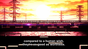And what precisely makes a human wish more valuable than a human? I would really like to know.