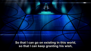 So do you actually want to grant his wish or do you just want to keep existing? Because you can't have both!