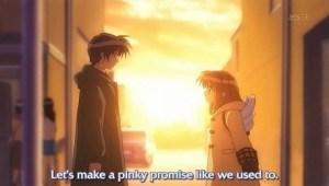 Inspiring childhood promises all over anime.