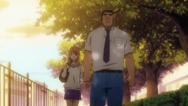 Takeo and Yamato walk together after he tells her she's the only one for him. (ep 16)