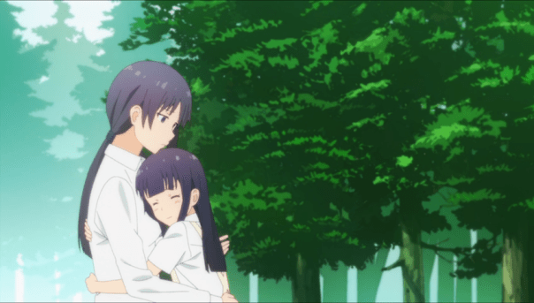 Aoi and her mother finally embrace. It took the help of many friends—including a conversation with a lost