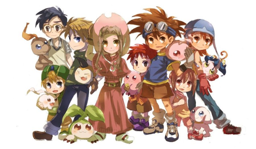 Digimon Adventure gang