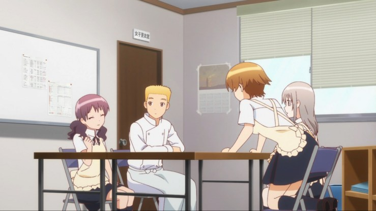 From left to right: Shiho, Kouno, Miyakoshi, and Fumie.