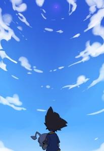 tai looking into the sky