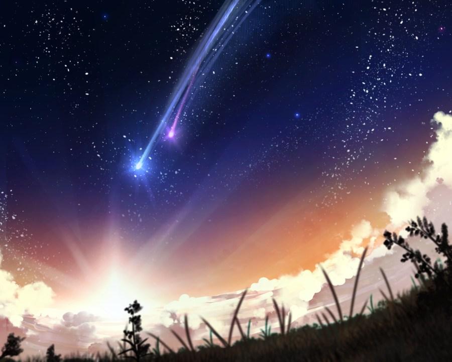kimi no na wa shooting stars