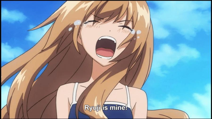 Taiga claiming Ryuuji