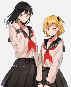 shimizu and yachi