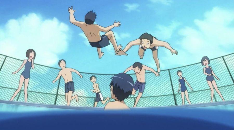 boys falls in water