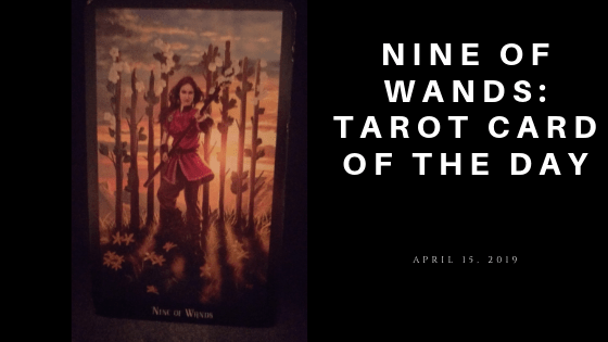Nine of Wands Tarot Card of the Day