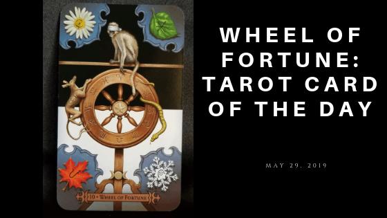 Wheel of Fortune Tarot Card