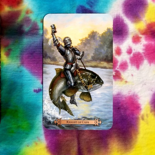 Tarot Draw for May 2020 - Knight of Cups