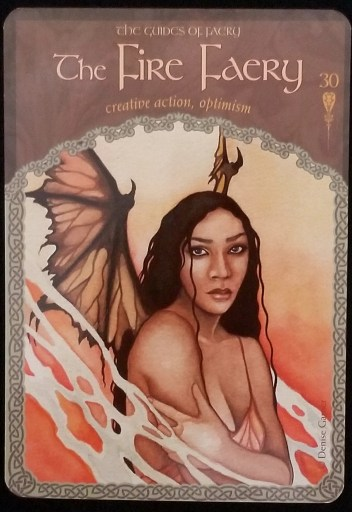 Weekly Oracle Reading - The Fire Faery