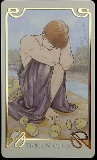 Weekly Tarot Reading - Five of Cups