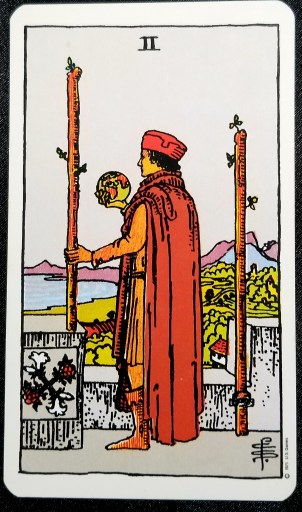 Weekly Reading - Two of Swords, April 12 - 18 2021