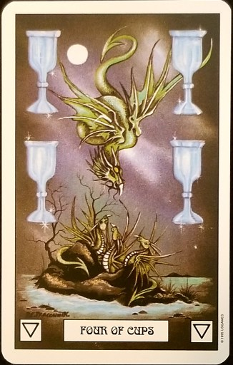 Weekly Tarot Reading - Four of Cups