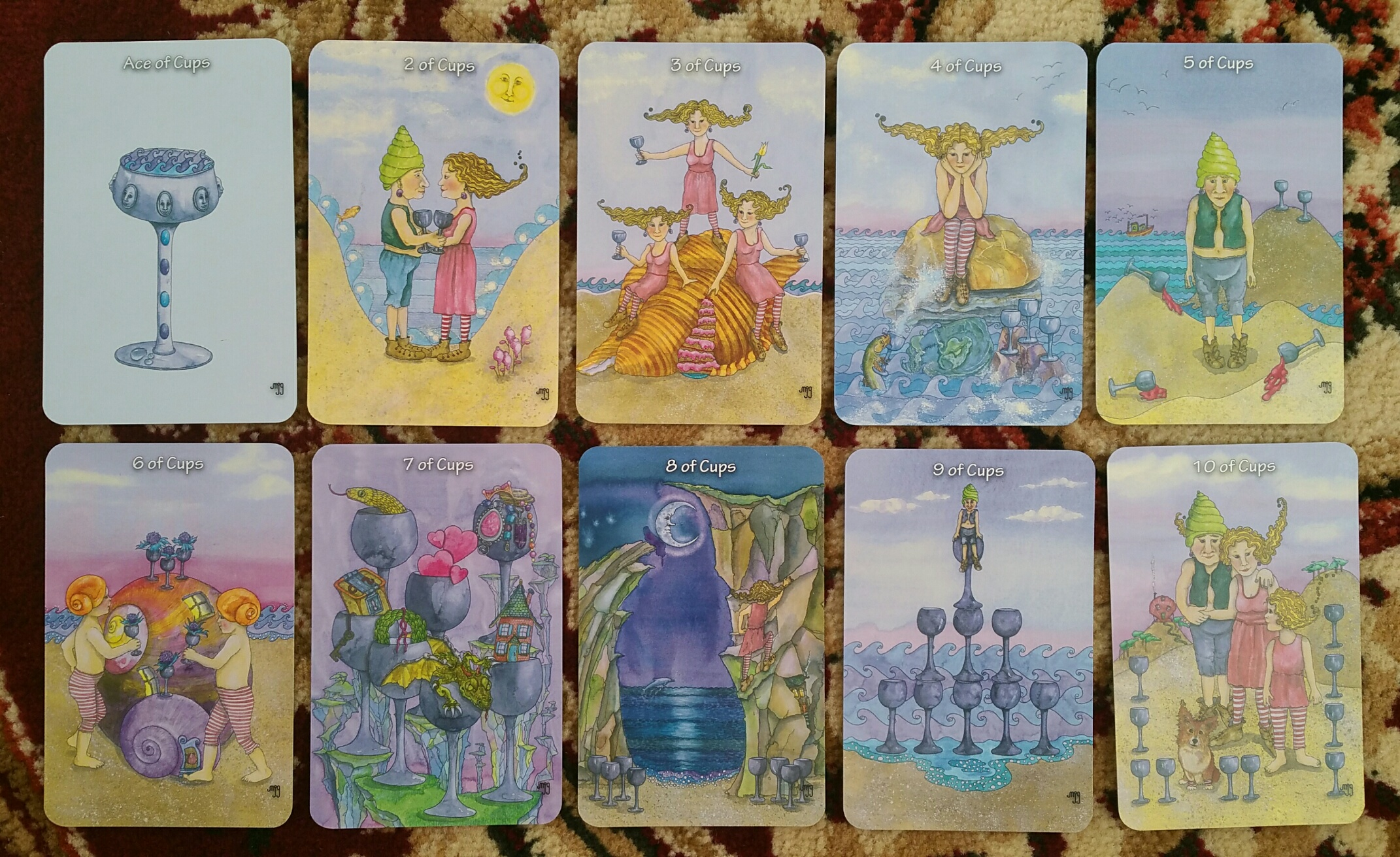 Review Of The Hezicos Tarot By Mary Griffin Benebell Wen