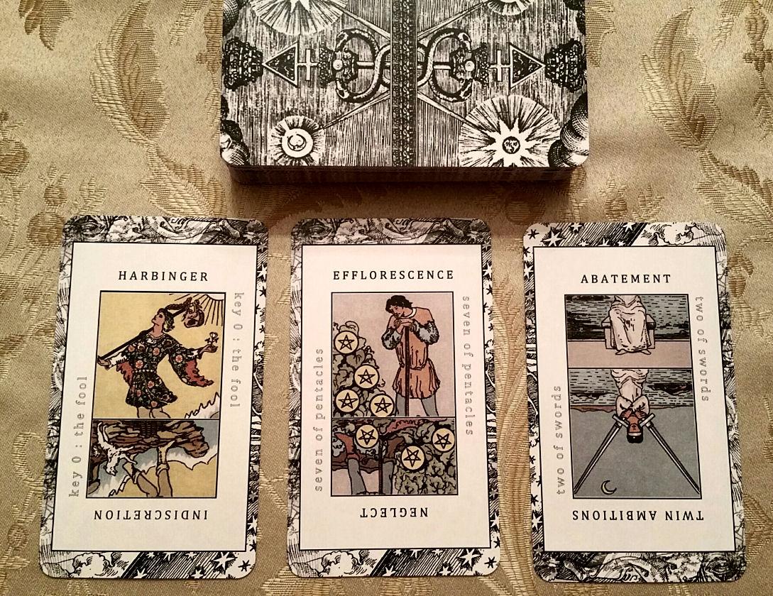 Waite Smith Tarot Keywords Study Deck Three Versions