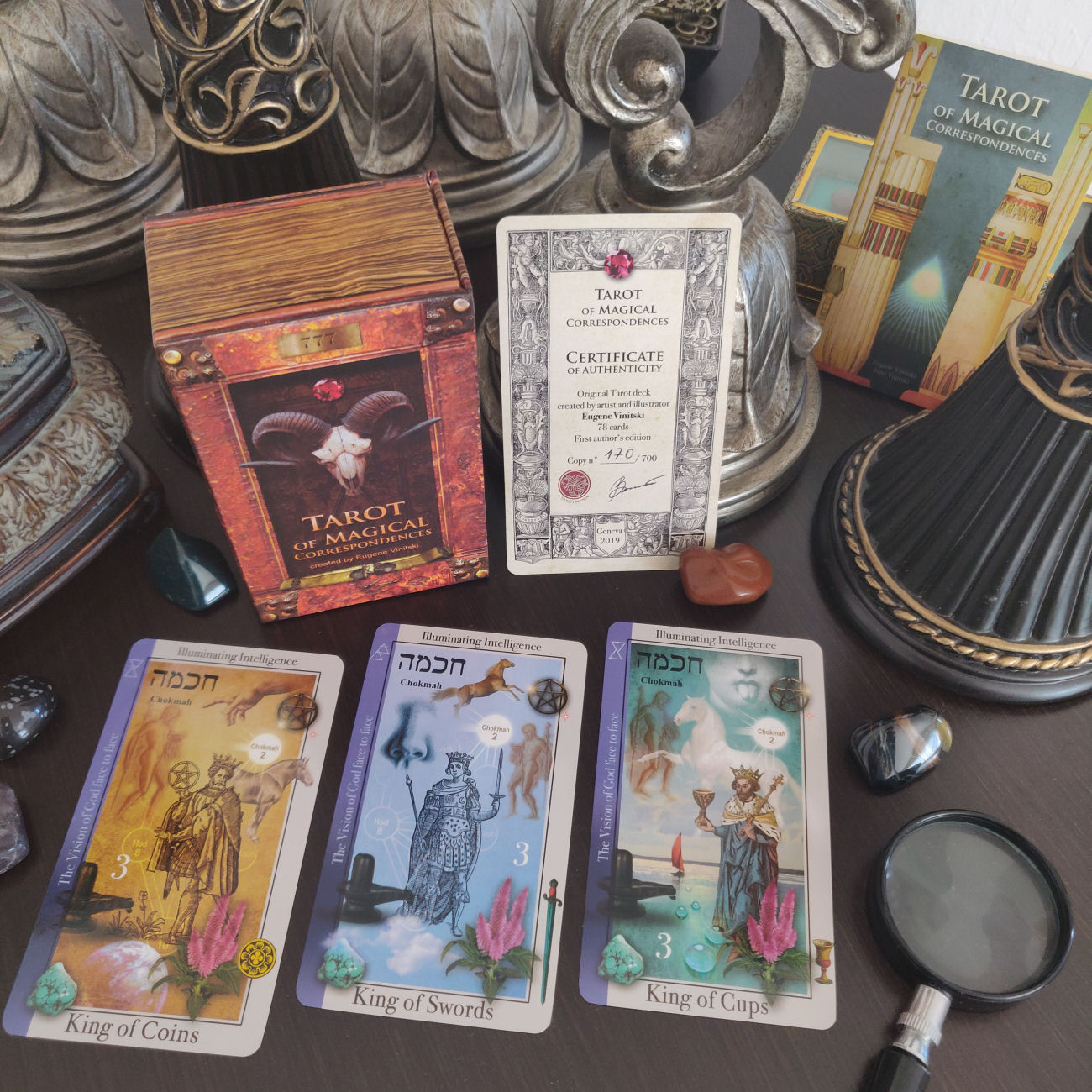 Tarot Of Magical Correspondences Benebell Wen