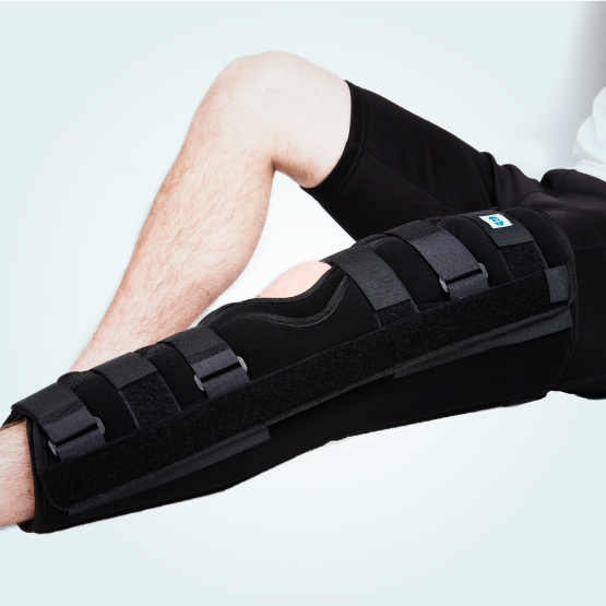 The Benecare Tri Panel Knee Splint