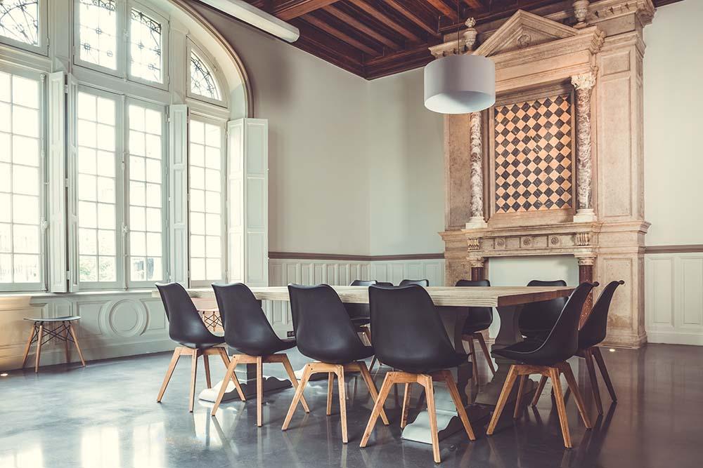 salle de réunion design 2 resideco dijon intérieur - Architecture - Bénédicte Manière - Photographe Nuits Saint Georges - Bourgogne