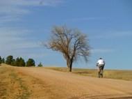 Cyclist at Good Samaritan Society St. Martin